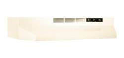 Broan Non Ducted Range Hoods broan 410000 series bisque