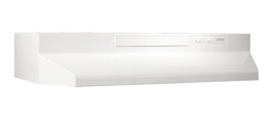 Broan White Range Hoods broan 430000 series