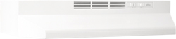 Broan Non Ducted Range Hoods broan 410000 series white