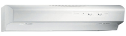 Broan White Range Hoods broan qs142ww